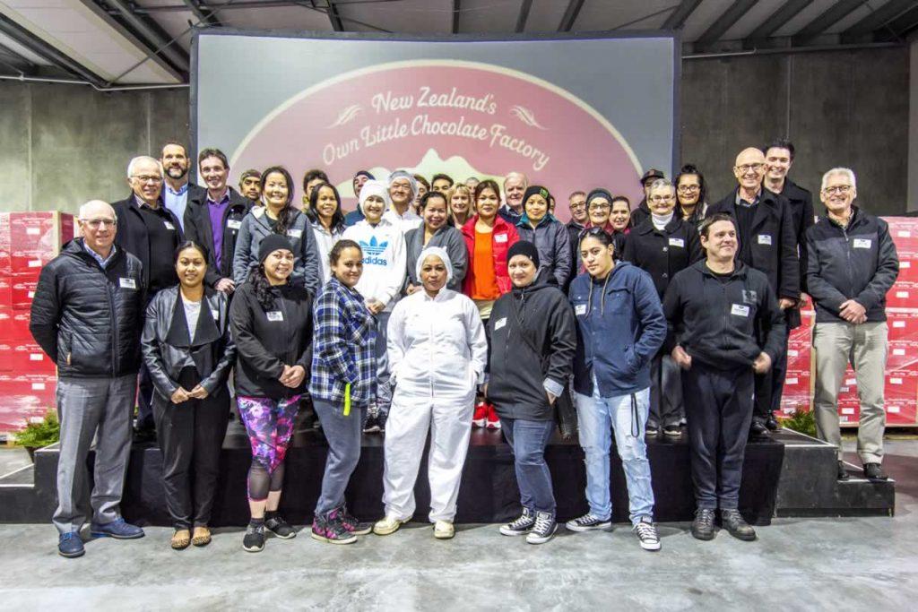 Waikato Valley Chocolates Team